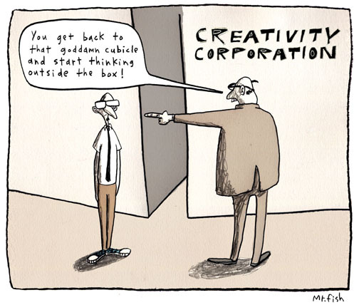 creativity cartoon