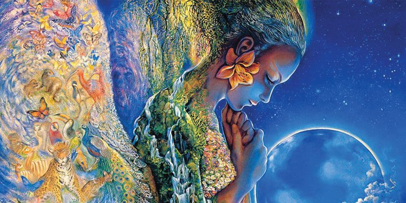 Image credit: Sadness of Gaia by Josephine Wall